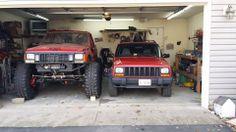 jeep xj - stock vs modified