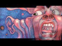 Animazione 3D della celebre copertina dei King Crimson fatta con Blender