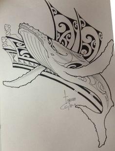dessin-polynesien-baleine-pour-tatouage-homme-whale-tattoo-design