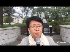 망치부인(전반전 2016. 10. 07) 워싱턴 백악관 앞! 사드 배치 반대 10만 청원, 오바마 정부는 답하라! 사드 배치는 탐욕이다! 평화의 대한민국을 원한다 - YouTube