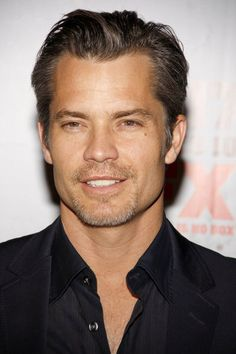 <3 Timothy Olyphant!! He graduated from my high school in Modesto!