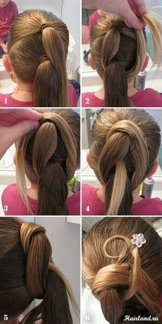 Cute ballroom hairstyle part 1
