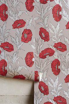 Bloom By Bloom Wallpaper #anthropologie