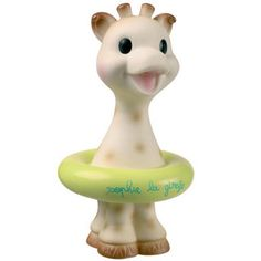 100% rubber Sophie La Giraffe Bath Toy!