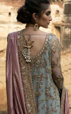 Bridal Couture Pakistani Outfit 41 Ideas For 2019 Shadi Dresses, Pakistani Formal Dresses, Pakistani Wedding Outfits, Pakistani Wedding Dresses, Pakistani Dress Design, Bridal Outfits, Indian Dresses, Indian Outfits, Walima Dress