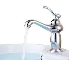 2nd bath - ELLO&ALLO Touch on Bathroom Sink Faucet Single Handle $40   http://www.amazon.com/dp/B016KDKTEW/