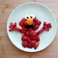 Strawberry Elmo