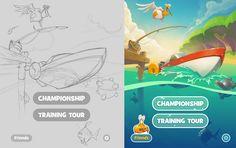 Upcoming iOS game by A.Novoselov