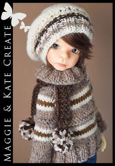 OOAK-BROWN-Outfit-for-Kaye-Wiggs-Boy-Maurice-18-MSD-BJD-by-Maggie-Kate-Create
