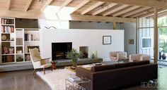 Home Remodeling Ideas—Midcentury Modern Home Mid Century Ranch, Mid Century House, Midcentury Modern, Danish Modern, Floor Design, House Design, Sarah Walker, Modern Style Homes, Mid Century Modern Design