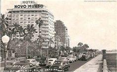 Hotel Novo Mundo - Rio de Janeiro antigo