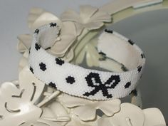 Polka Dot Bow Cuff | Flickr - Photo Sharing!