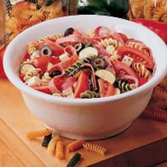 *Deli-Style Pasta Salad - This has been a favorite at my picnics for years...
