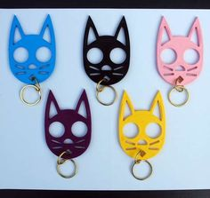 Kitty Keychain doubles as a self defense tool. Meooowwwch!
