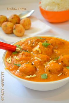 Tasty Malai Kofta recipe from leading Indian restaurant in Melbourne Veg Recipes, Indian Food Recipes, Vegetarian Recipes, Cooking Recipes, Ethnic Recipes, Vegan Meals, Nepalese Recipes, Cooking Dishes, Veg Dishes