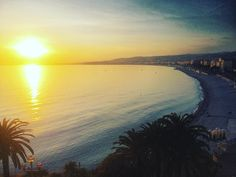 Nissa la bella  #nice #sunset #sunsetlovers #photooftheday #colors #winter #instagood #sunsets #frenchriviera #cotedazur by oliv_prnt at http://ift.tt/1hCWVmI