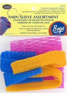 Boye Assorted Yarn Sleeves: Knitting and Crochet Accessories by Boye at Simplicity.com