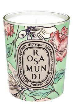 Rosa Mundi Votive Candle (Limited Edition)