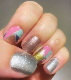 Color crush, Diamond dust sparkle and rose gold sparkle. @jamberry #jamberry  #ontheblog