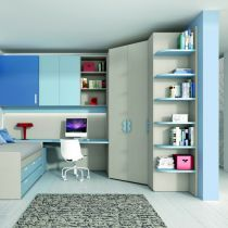 11 best Camerette TEENS Spazio Giovane images on Pinterest | Bedroom ...