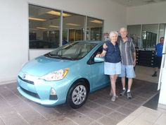 Congratulations To Henry On His Beautiful New Prius! Enjoy And Welcome To  The David Maus Toyota Family!