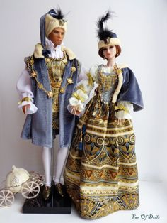 Barbie Dolls, Dolls Dolls, Historical Costume, 17th Century, Doll Clothes, Polish, Medieval Theatre, Costumes, Lady