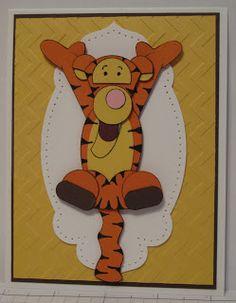 In My Craft Room: Tigger Punch Art Card