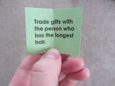 Christmas Party Game idea Finally something other than plain, old White Elephant! Trade gifts with...