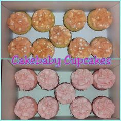Watching Your Figure?! Grab a box of CBC Jrs.! Alcohol infused minis in Peachtini and Pink Moscato! #cakebabycupcakes  #cupcakes #minis #alcoholinfused #Atlanta #custom #Delivery