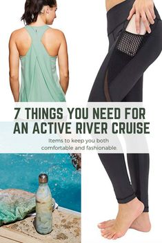 We've got you covered with our list of gear designed to help you pack for an active river cruise. Packing For A Cruise, Cruise Tips, Cruise Vacation, Cruise Fashion, Travel Wear, Shore Excursions, Travel Activities, Royal Caribbean, River