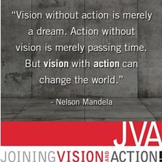 Take action with your visions