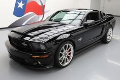 eBay: 2008 Ford Mustang Shelby GT500 Coupe 2-Door 2008 FORD SHELBY GT500 SUPER SNAKE S/C 6-SPD 20'S 6K MI #142662 Texas… #fordmustang #ford