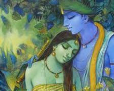 Subrata Das...artist from Kolkata...I love his Krishna paintings
