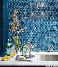 Kitchen Backsplash Ideas - Tile Designs for Kitchen Backsplashes