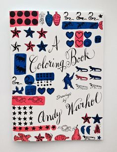 andy warhol coloring book.