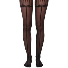 Wolford Linnea Tights Hose ($48) ❤ liked on Polyvore