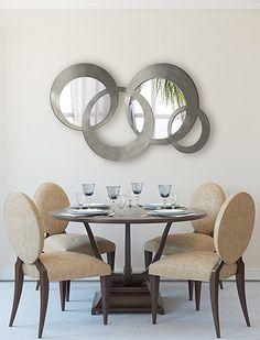 Espejos vestidores en cristal de diseño moderno.