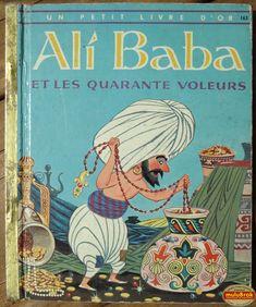 Livre Collection ... ALI BABA et les 40 voleurs (1958) ** Un petit livre d'OR **