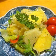 シリコンスチーマー久々に出して作ってみました♪ さっぱりポテサラ✨パルメザンチーズとさつまいもの甘みがいいですね(*^^*) さくらこさん♪とっても美味しかったです(^o^) 先に作られてた皆さま食べ友お願いします(#^.^#) - 151件のもぐもぐ - sakurakoさんの料理 ポテトを美味しく食べよう!リヨネーズポテト(^з^)-☆ by mikio64