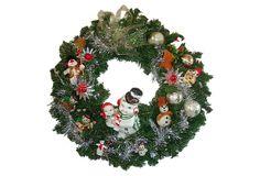 Snowman Ornament Wreath on OneKingsLane.com