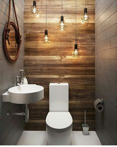 66 epic wood bathroom design ideas with Flare Far - 66 epic wooden bathroom conception ideas with flare far - Small Half Bathrooms, Bathroom Design Small, Amazing Bathrooms, Bathroom Designs, Bath Design, Gray Bathrooms, Tan Bathroom, Bathroom Layout, Relaxing Bathroom