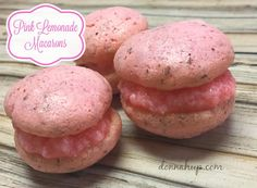 Welcome back to the new 12 Days of series! Want to try these pretty Pink Lemonade Macarons?
