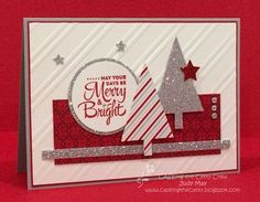 Stamping Up Lots of Joy, Merry Moments DSP. Judy May, Just Judy Designs