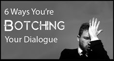 Want to improve your dialogue skills? This article looks at the mistakes writers commonly make.