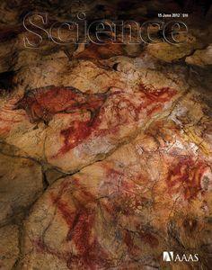Portada de la revista Science, referente a las cuevas de Altamira  #Cantabria #Spain