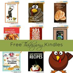 8 Kindle Freebies: 20 Fun Facts About Thanksgiving, Thanksgiving Colors, 101 Great Thanksgiving Recipes, + More!