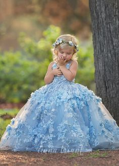 Step into the luxurious world of little girls gowns by Anna Triant Couture and experience the magic of innovative style in every perfect stitch. Girls Pageant Dresses, Gowns For Girls, Cinderella Dresses, Bridal Dresses, Flower Girl Dresses, Flower Girls, Party Dresses, Bridesmaid Dresses, Little Girl Gowns