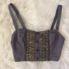Staring At Stars Bralette Top Size XS. Perfect for festivals. No flaws Staring at Stars Tops Crop Tops