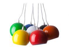 Balls lamper  999,-  IlVA First Home, Wind Chimes, Interior Inspiration, Outdoor Decor, Lighting, Design, Home Decor, Lights, Decoration Home