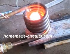 In this post we comprehensively discuss how to build a high power 1000 watt induction heater circuit using IGBTs which are considered to be the most versatile and powerful switching […] Electronic Circuit Design, Induction Heating, Engineering Projects, Circuit Projects, Magnetic Field, Electrical Wiring, Black Smith, Homemade, Junk Drawer